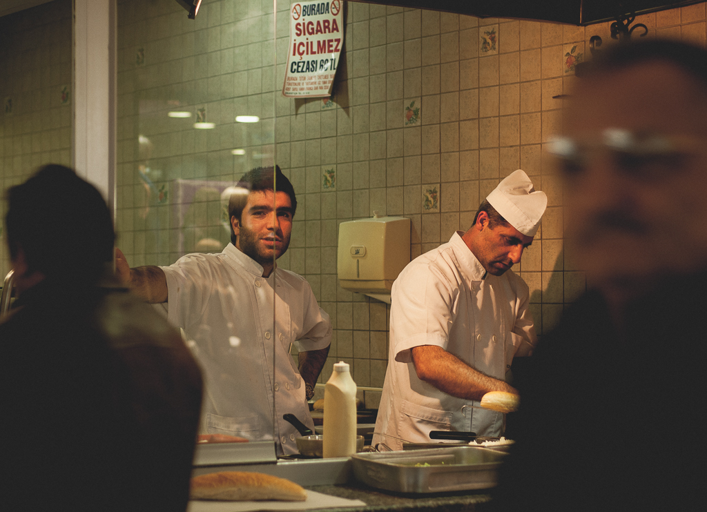 kebab shop turkey street photo