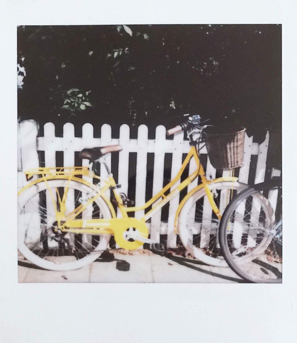 bike Ioana Birdu fuji instax