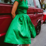 Mikka and the green dress